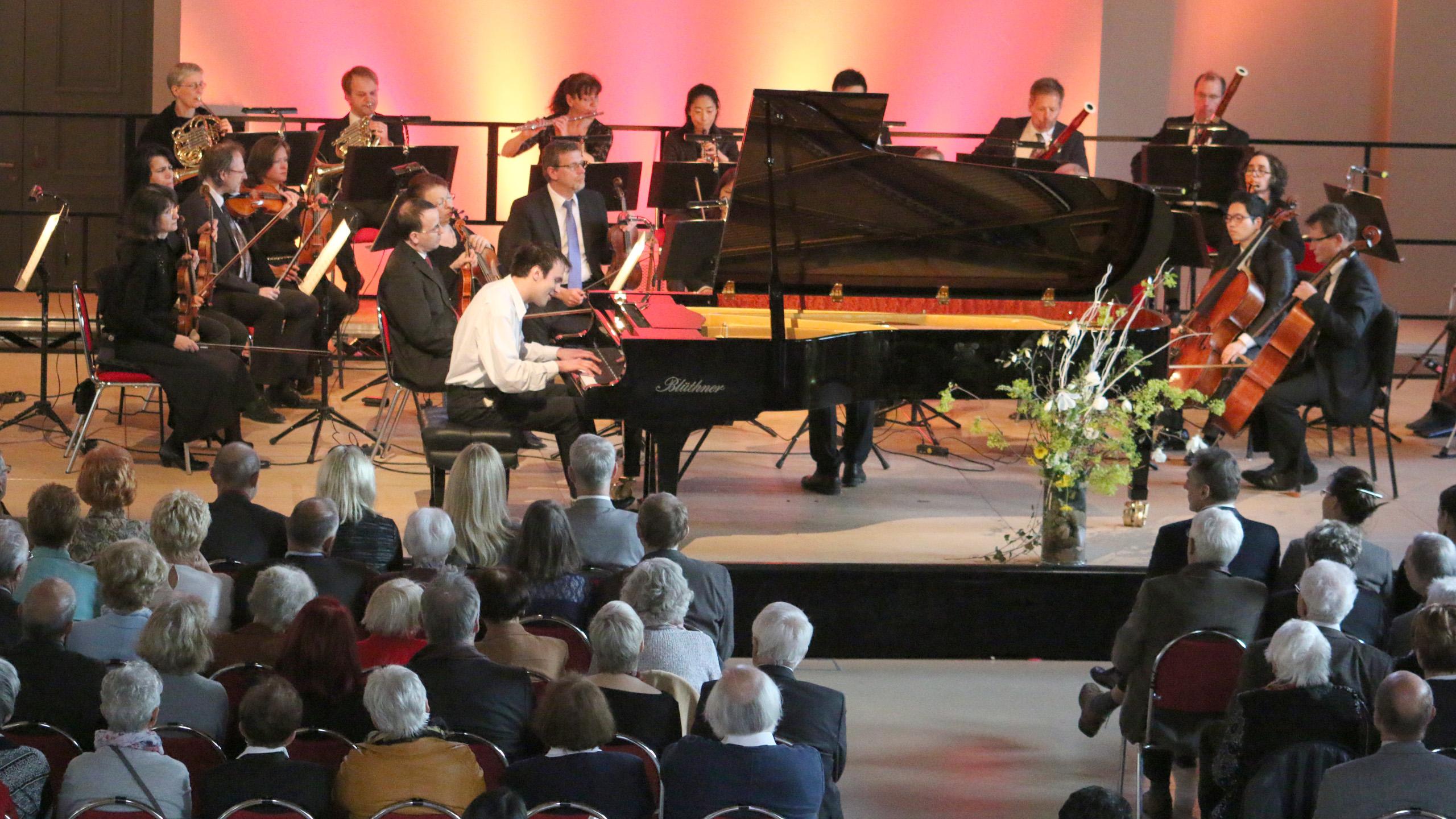 Klavierwettbewerb im Marstall mit Publikum