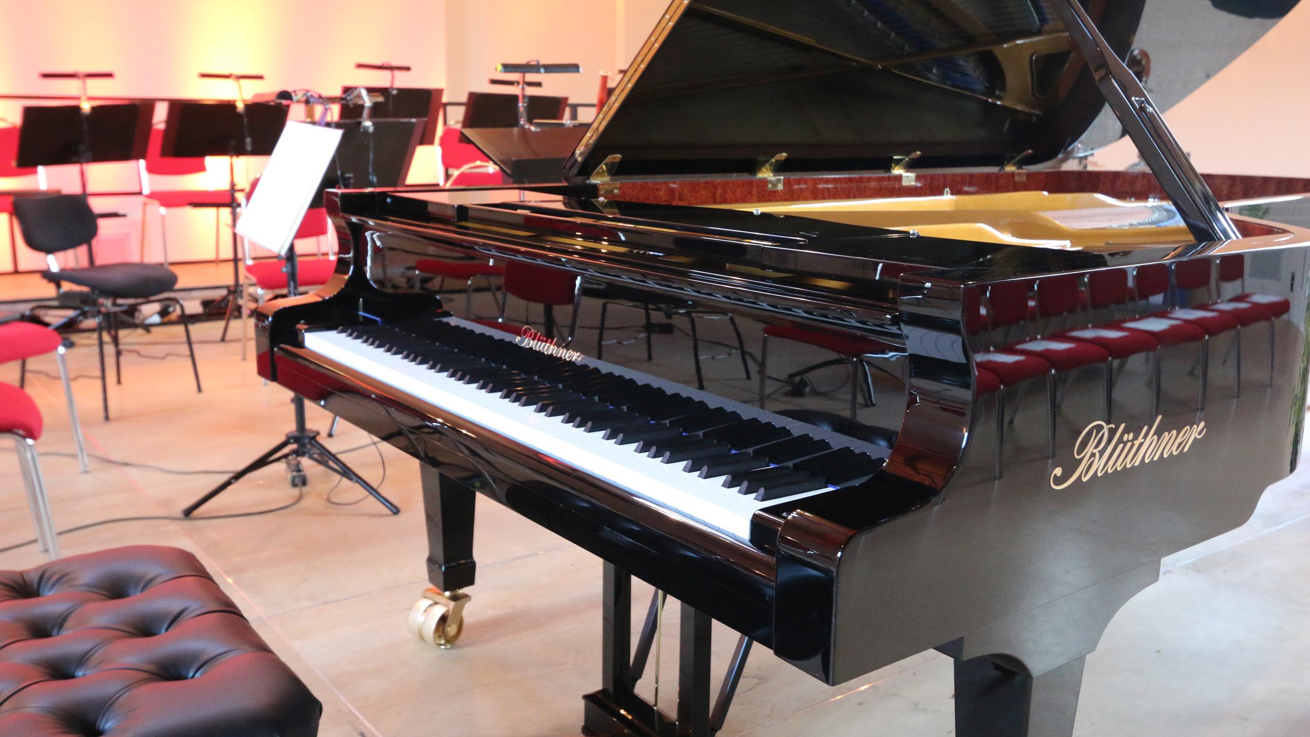 Klavier im Fürstlichen Marstall