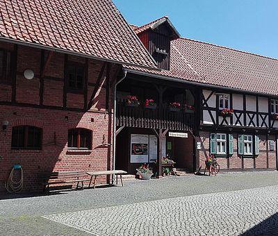 Innenhof des Museums Silstedt