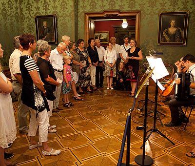 Wandelkonzert im Schloss Wernigerode