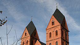 Die Türme der St. Marienkirche in Wernigerode