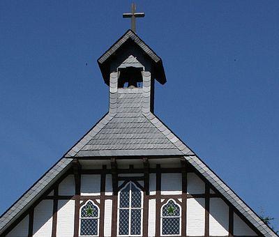 Detail der Kreuzkirche in Wernigerode