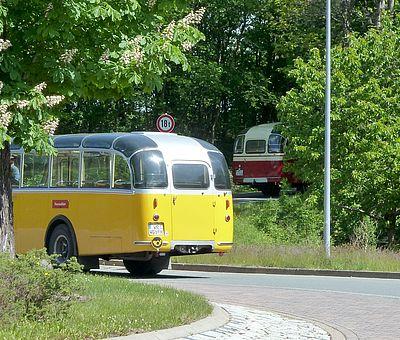 Alpenbus Kloster Michaelstein