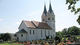 Die Kirche in Minsleben