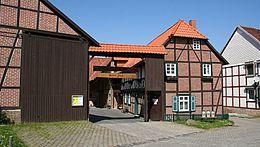 Der Museumshof in Silstedt bei Wernigerode in der Aussenansicht