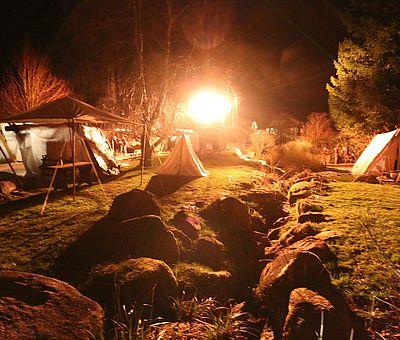Nachtlicht zur Walpurgis in Schierke