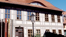 Aussenansicht vom Harzmuseum in Wernigerode
