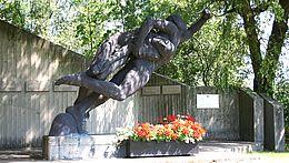 Mahnmal in der Mahn- und Gedenkstätte Wernigerode