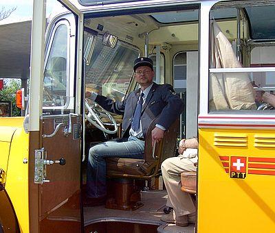 Alpenbus Fahrer