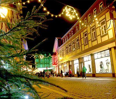 Blick in die Marktstrasse