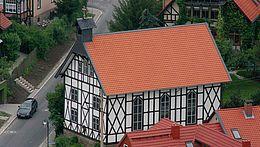 Kreuzkirche in Wernigerode in einer Aussenansicht