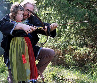 Bogenschießen zur Walpurgis in Schierke