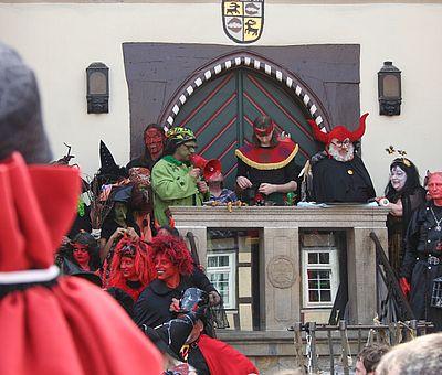 Walpurgis in Wernigerode zum Hexenempfang