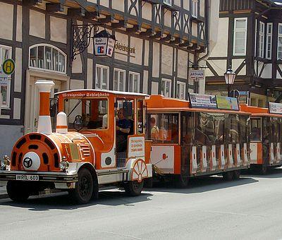 Schlossbahn in der Breiten Straße