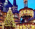 Auf dem Weihnachtsmarkt in Wernigerode