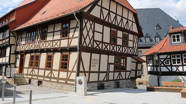Aussenansicht vom Schiefen Haus in Wernigerode