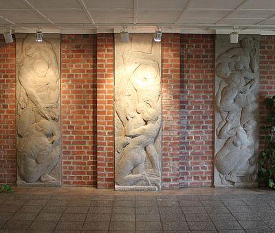 Gedenkraum in der Mahn- und Gedenkstätte Wernigerode