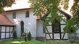 Detailansicht der Kirche in Silstedt