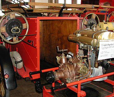 Gerätschaften im Feuerwehrmuseum Wernigerode