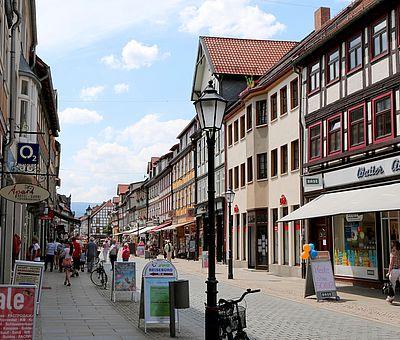 Breite Straße in Wernigerode