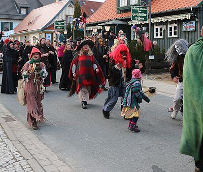 Walpurgisumzug in Schierke