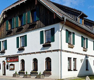 Aussenansicht Gasthof Stadel