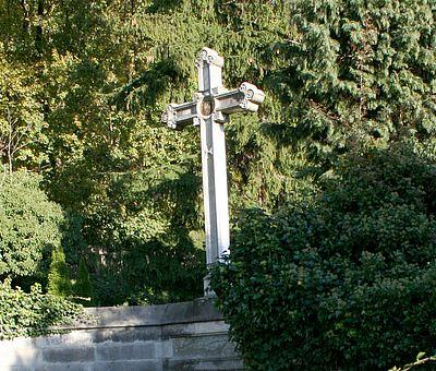 Kreuz auf dem Theobaldifriedhof in Wernigerode