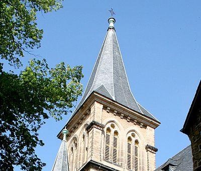 Turm der St. Sylvestrikirche in Wernigerode