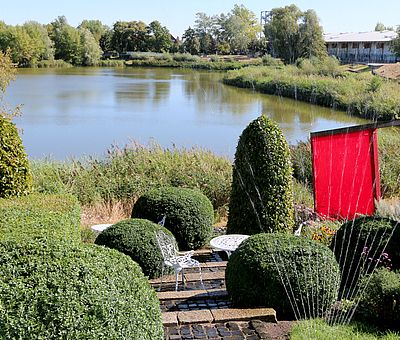 Themengärten im Bürgerpark Wernigerode