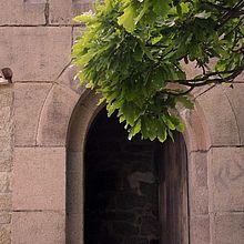 Eingang zum Kaiserturm auf dem Armeleuteberg in Wernigerode