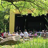 Musikpavillion im Kurpark Schierke