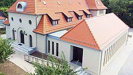Das Gebäude der Neuapostolischen Kirche in Wernigerode