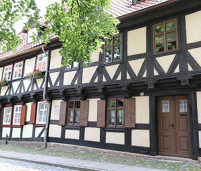 Fachwerkhaus am Oberpfarrkirchhof