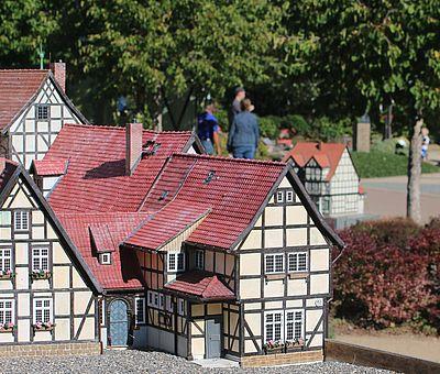 Schlossberg in Quedlinburg im Miniaturenpark Kleiner Harz