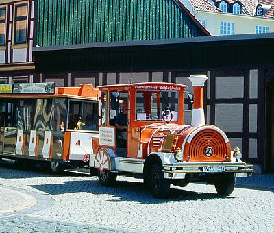 Schlossbahn in der Altstadt