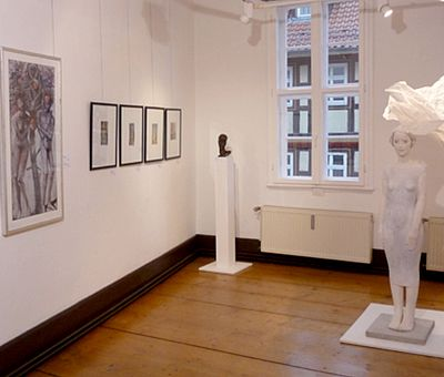 Galerie im Ersten Stock Innenansicht