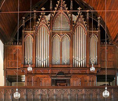 Orgelempore der Johanniskirche in Wernigerode