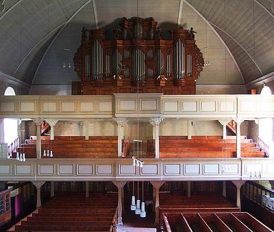 Orgelempore in der Liebfrauenkirche Wernigerode
