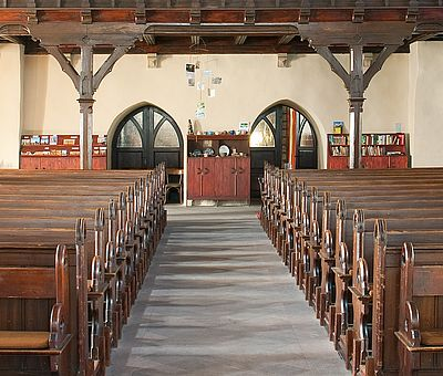Innenraum der Johanniskirche in Wernigerode