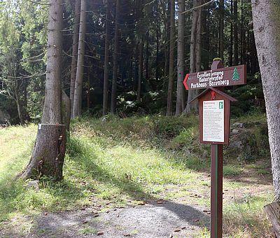 Wanderschild in Schierke