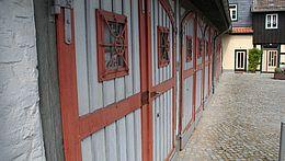 Torfront des Feuerwehrmuseums in Wernigerode
